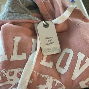 NWT Reflex Pink CaliLove Hoodie California Republi